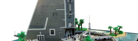 LEGO – MOC Rogue One – Scarif Citadel de Paul Trach