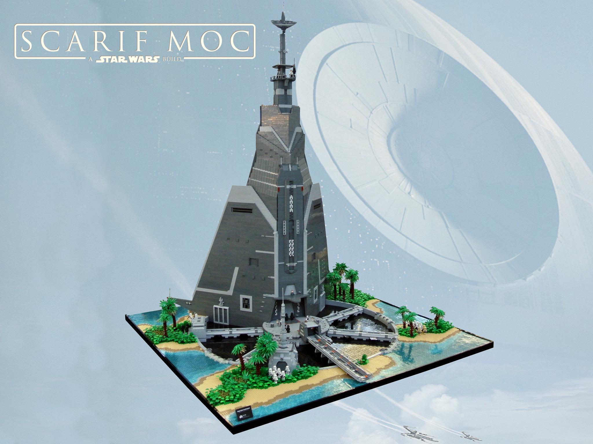 LEGO Rogue One Scarif Citadel de Paul Trach
