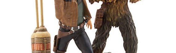 Disney Store – Han Solo et Chewbacca statue Limited Edition