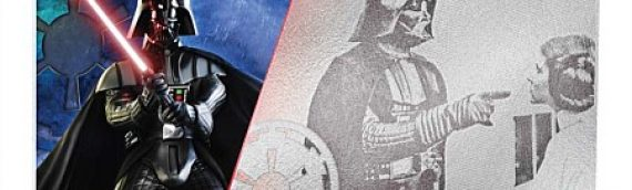 NZ Mint – Darth Vader Silver Coin Note