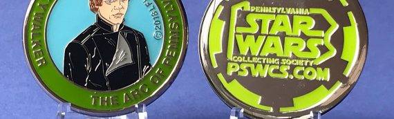 Medallion PSWCS 2018 – Luke Skywalker Jedi Knight