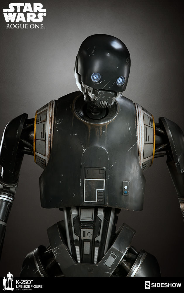 Sideshow COllectibles K-2SO Life Size Making Of