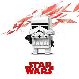 LEGO Brickheadz luke skywalker leia boba fett
