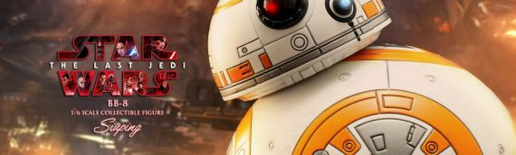 Hot Toys : BB-8 & BB-9E arrive bientôt chez vous