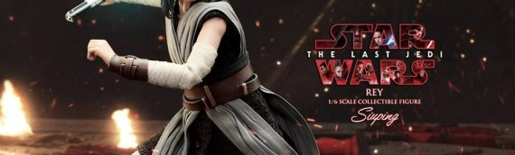 Hot Toys – Star Wars The Last Jedi Rey Jedi Training en version de production