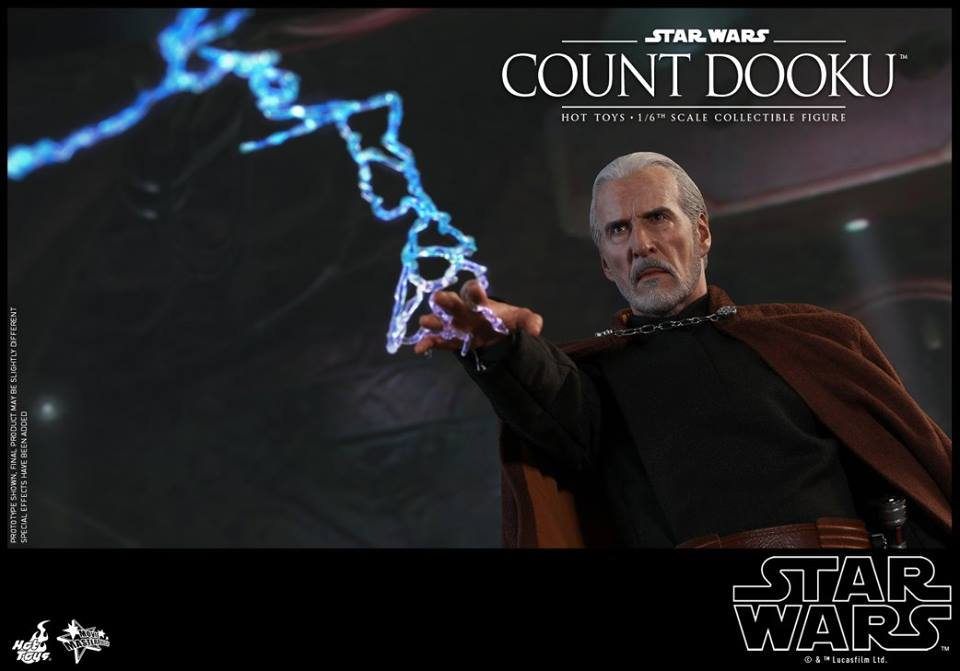 Hot Toys count look sixth scale figure