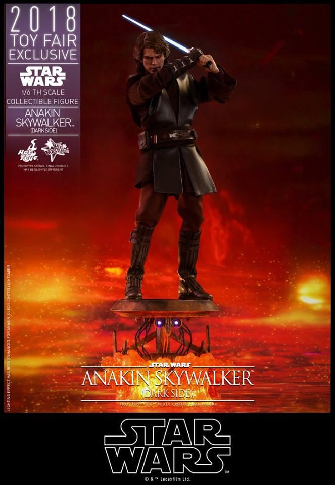 Hot Toys Anakin Skywalker Dark Side Sixth Scale Figure