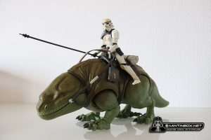 Mintinbox unboxing Dewback Sandtrooper The Black Serie