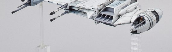 BANDAI : B-Wing Star Fighter Model Kit  exclu SDCC 2018