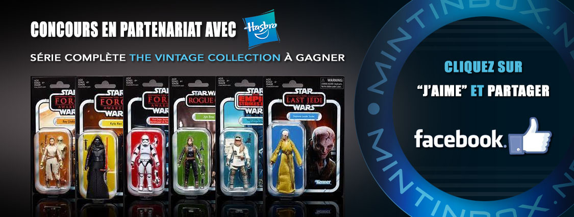 Concours Hasbro The Vintage Collection