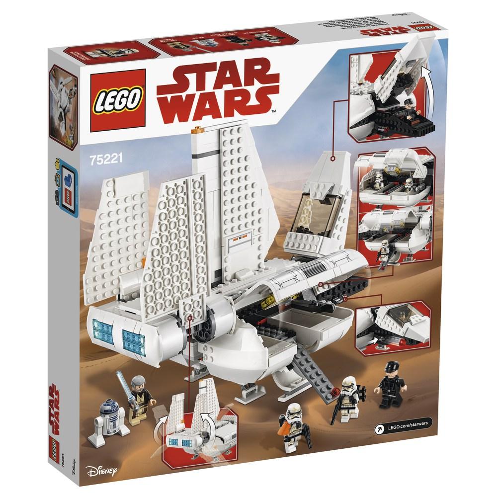 LEGO Imperail landing shuttle 2018