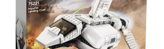 LEGO – Star Wars 75221 Imperial Landing Craft