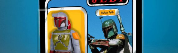 Gentle Giant : SDCC Exclusive Boba Fett (ROTJ) Jumbo Kenner