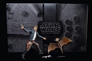 Star Wars Hasbro the black serie SOLO vs mynock SDCC