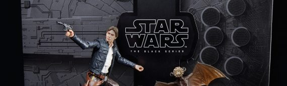 HASBRO – Han Solo ESB VS Mynock The Black Serie SDCC EXCLUSIVE