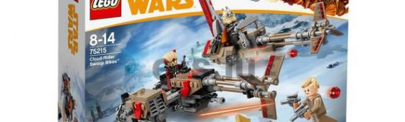 LEGO – SOLO – A Star Wars Story Cloud-Rider Swoop Bikes