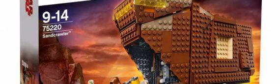 LEGO – 75220 Sandcrawler se dévoile en images