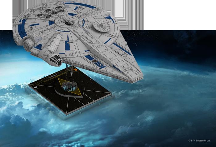 X-Wing Miniature Faucon Millenium Lando
