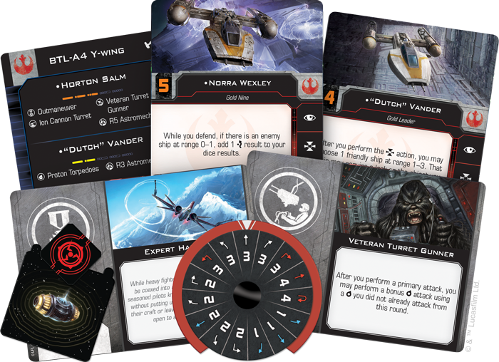 X-Wing Miniature Y-Wing expansion pack