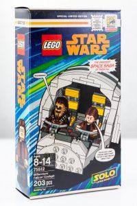 Lego, le cockpit du Faucon