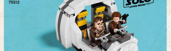 Lego : la notice du Cockpit du Faucon Millenium