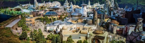 DISNEY a dévoilé la maquette de Star Wars Galaxy Edge