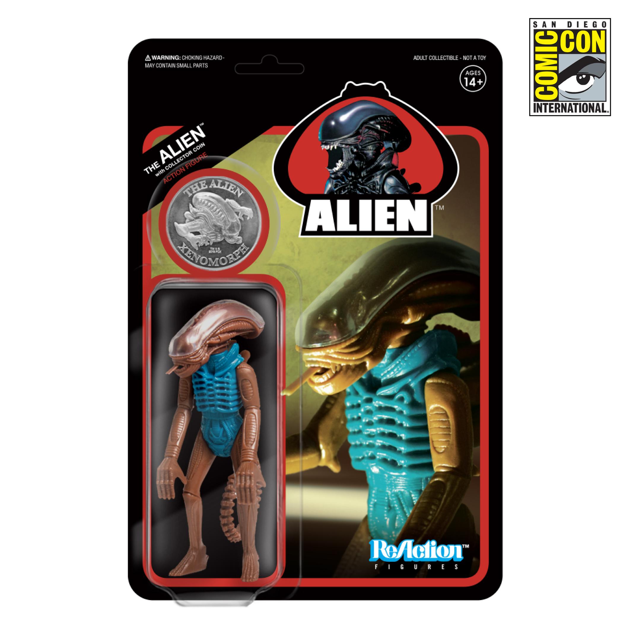 Alien Hammerhead super7 ddcc