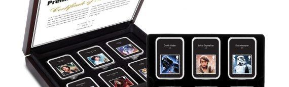 Coffret de timbres Star Wars