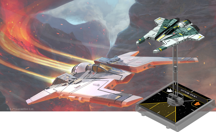 X-Wing Miniature expansion pack fang fighter