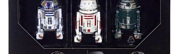 HASBRO – Red Squadron Droid 3-Pack The Black Serie Amazon Exclusive