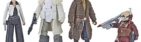 HASBRO – SOLO A Star Wars Story Mission on Vandor 4-pack