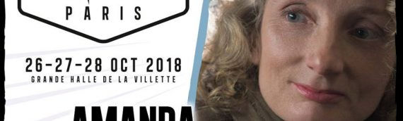 Comic Con Paris – Avec la participation de Amanda Lawrence – Commander D'Acy de Star Wars The Last Jedi