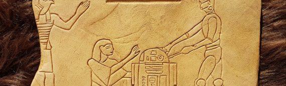 Y&M Props – Indiana Jones hiéroglyphes plates