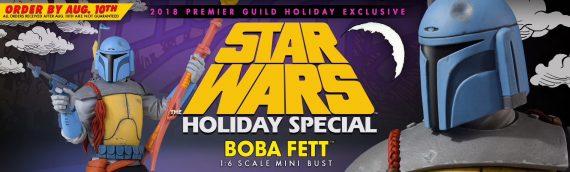 Gentle Giant – Animated Boba Fett Mini Bust Holiday en précommande