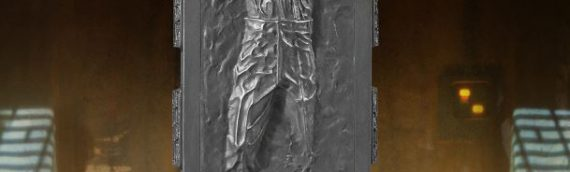 Gentle Giant – Han Solo in carbonite Collector's Gallery Statue