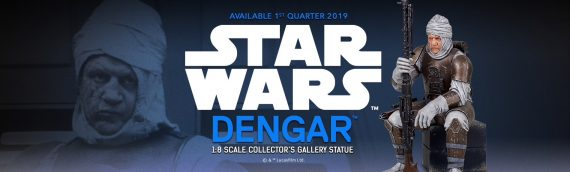 Gentle Giant – Dengar Collector's Gallery Statue