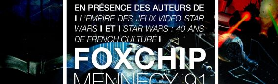 Dédicaces livres Star Wars french touch à Foxchip
