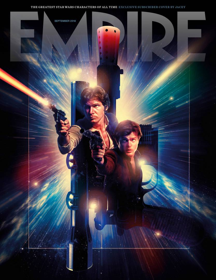 Empire Magazine Han Solo Star Wars