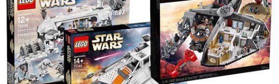 LEGO – Des éclaircissements sur la gamme Star Wars Master Builder Series
