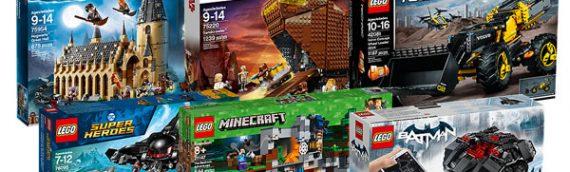 LEGO – Mise a jour du STORE estivale Star Wars, Harry Potter et bien d'autres