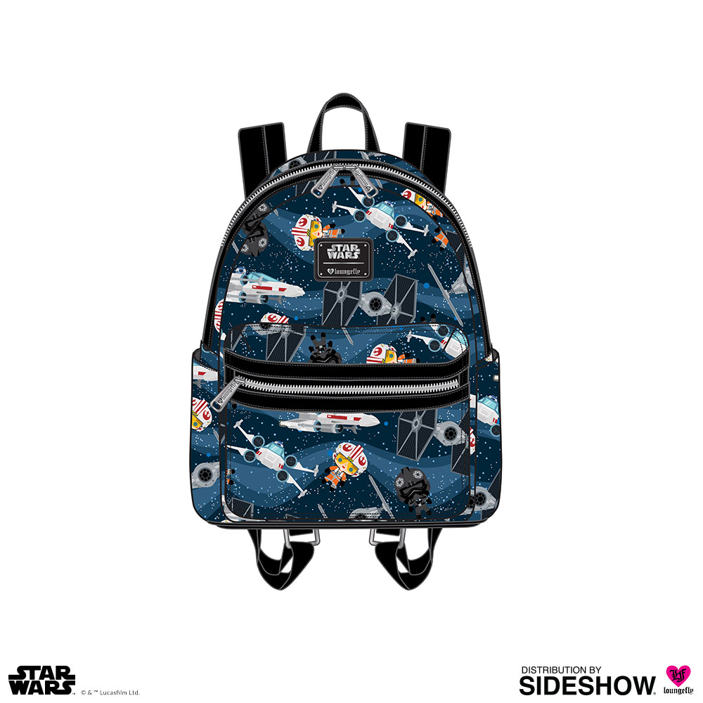 Loungefly Sac a dos Star Wars X-Wing TIE Fighter