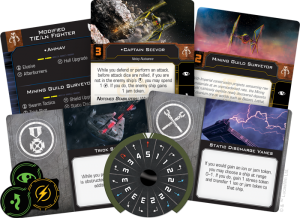 X-Wing Miniature Mining Guild TIE Expansion Pack