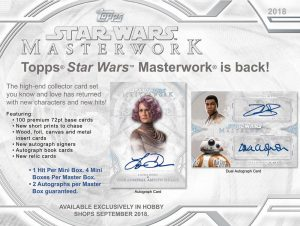 Star Wars Topps Master Works