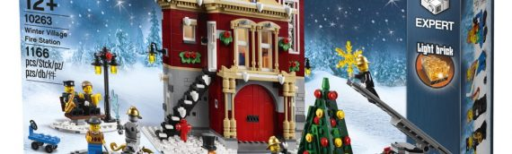 LEGO – 10263 Creator Expert Winter Fire Station