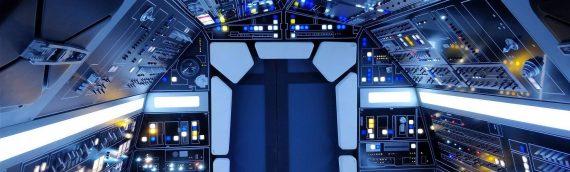 """FACTS – Le """"vrai"""" Cockpit du Faucon Millenium de LUCASFILM"""