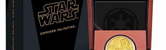 NewZealand Mint – Star Wars Emperor Palpatine pièce Or et Argent