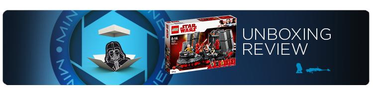 unboxing Lego