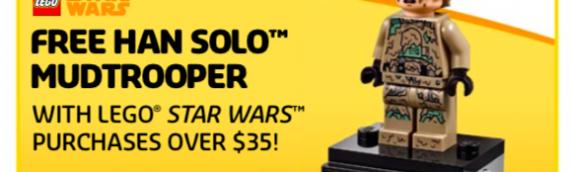 LEGO – Le polybag de Han Solo Mudtrooper offert aux Etats-Unis