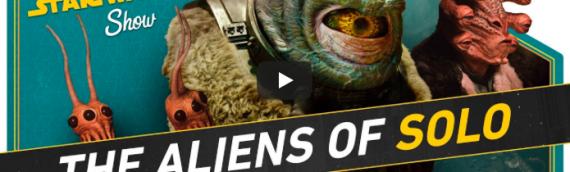 The Star Wars Show – Rencontre avec les créatures de SOLO – A Star Wars Story
