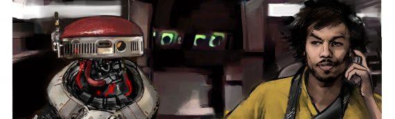 SOLO – A Star Wars Story : Les concepts Arts de Lando et L3-37